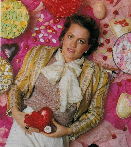 Chantal Coady, punk chocolate pioneer and founder of Rococo Chocolates will be talking at the Perfume and Chocolate evening Picture, courtesy of The Sunday Times