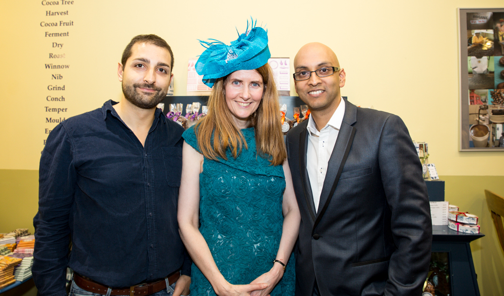 Hello Boys ! Alison Jane, The Queen of Organic and Green Living with Leo Gubenelli and Afzaal Mauthoor, founder of Inspired Challenge