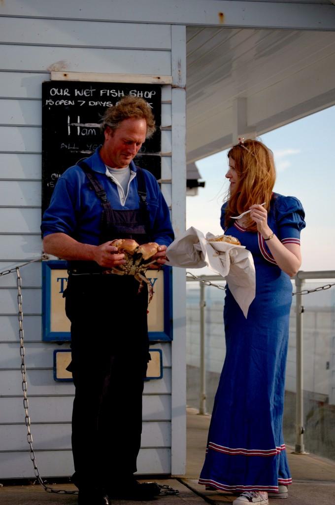Alison Jane talks to Ventnor Fisherman, Geoff Blake