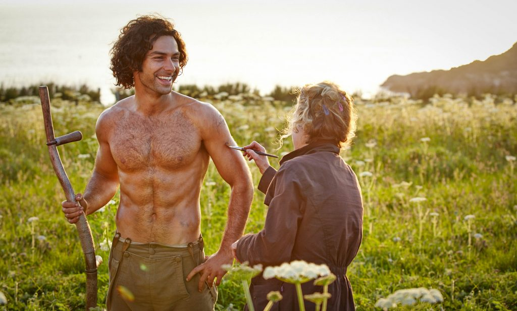 Here we go again - No Cornish Pasties for Aidan Turner, he has to preserve that six pack!