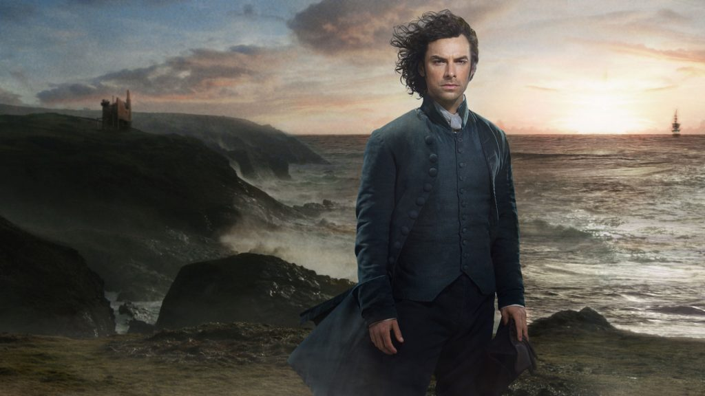 Aidan Turner Iconic Seascape