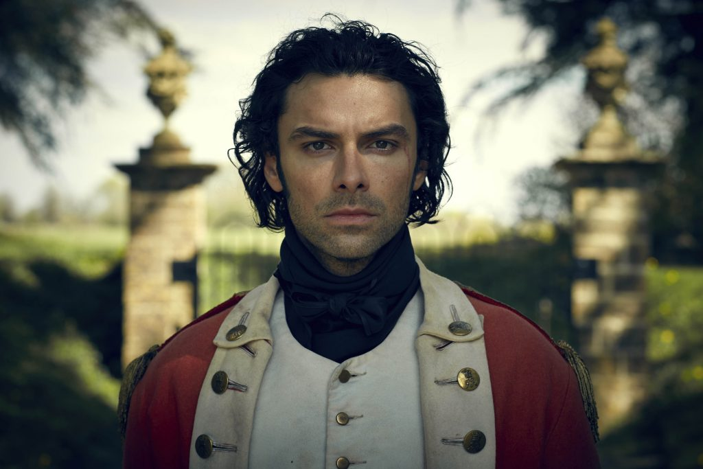 Aidan Turner Returns from the War in Poldark