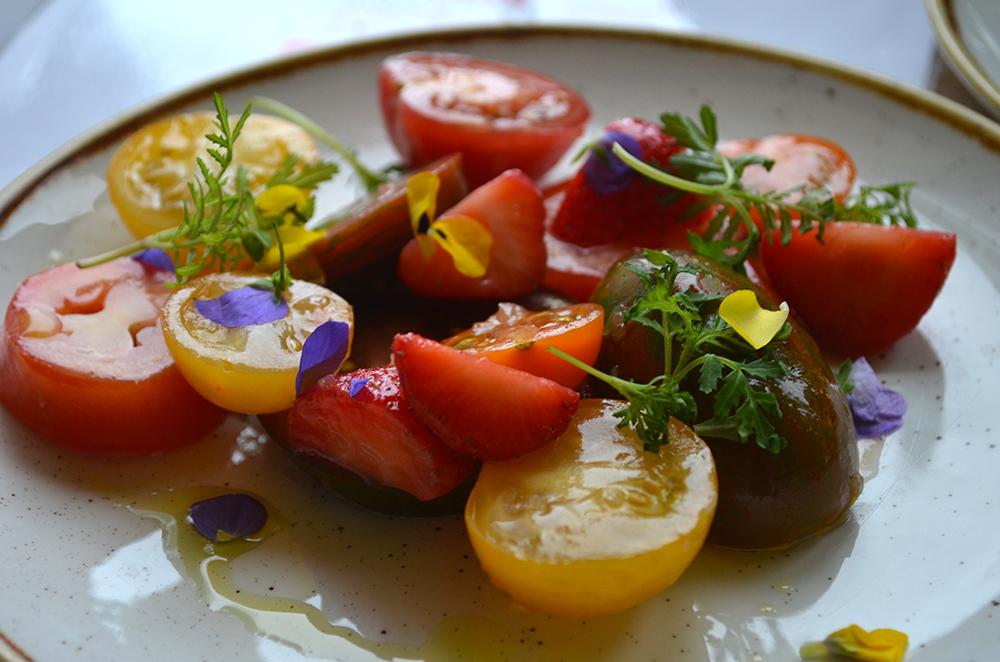 A multi-coloured Heritage Salad