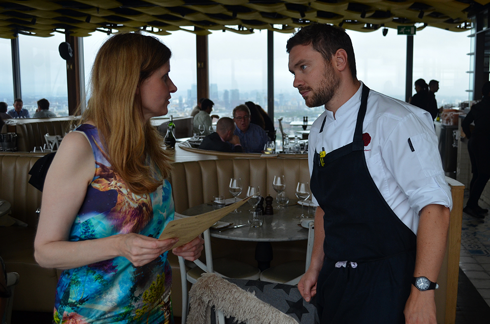 Alison Jane, The Ethical Hedonist Talking to Dan Doherty, Executive Chef at The Duke and Waffle.