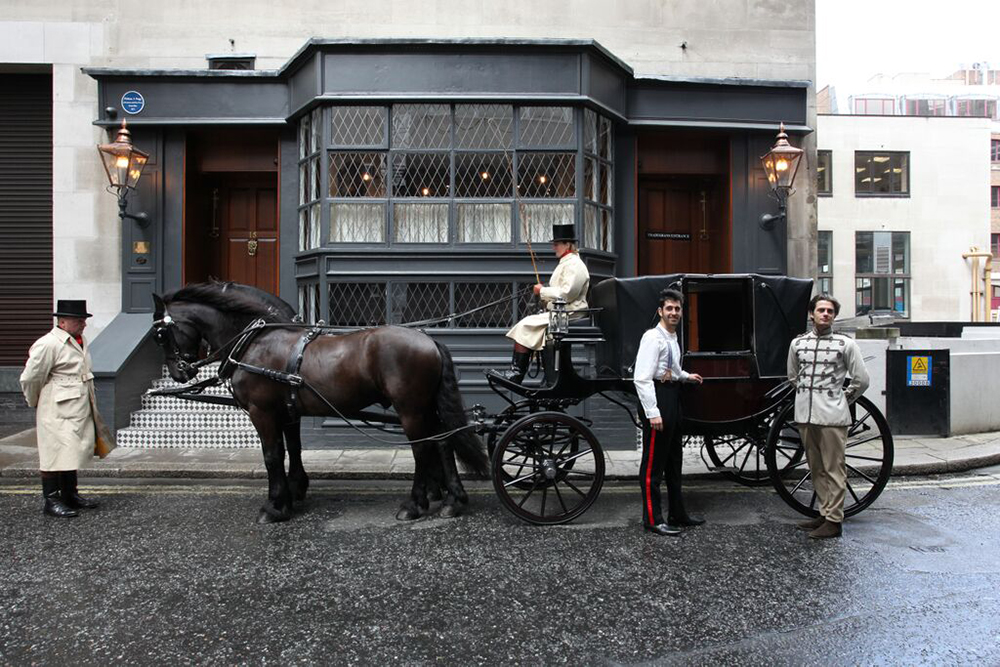 Mr Fogg's Tavern in Mayfair, London