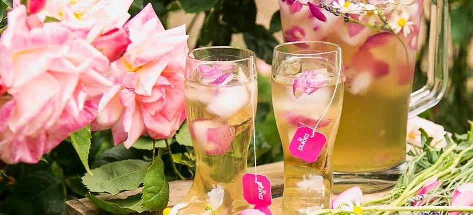 Pukka Herbs Rose Tee Cocktail