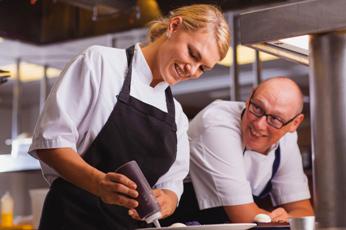 Steve Smith, Head Chef & Ellen de Jager, Head Pastry Chef, Bohemia