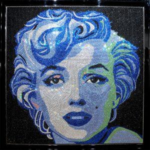 Marilyn Monroe by Clair Milner