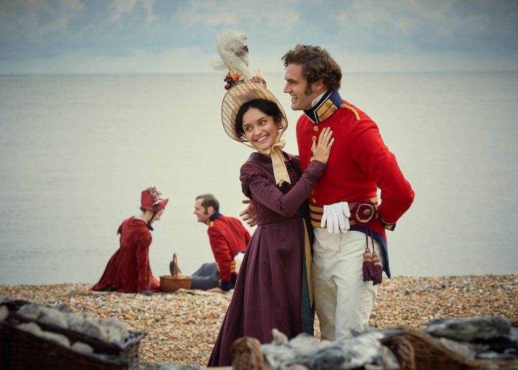Olivia Cooke and Tom Bateman Star in Vanity Fair for ITV