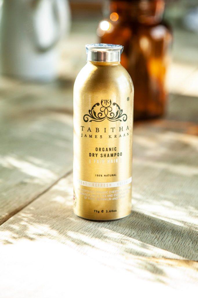 Tabitha James Kraan organic dry shampoo