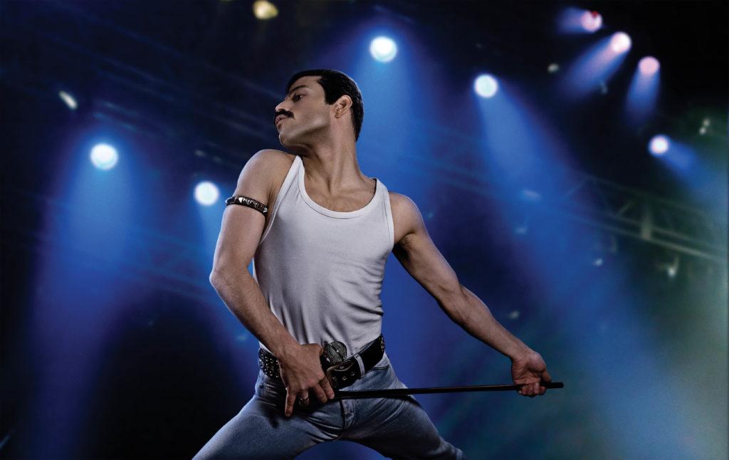 Rami Malek as rock icon Freddie Mercury in the 20th Century Fox/New Regency Film - Bohemian Rhapsody.