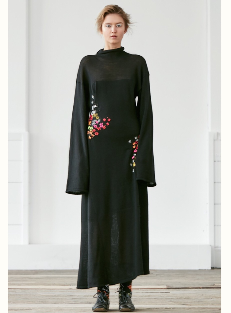 Alice Lee Embroidered Dress Young British Designers
