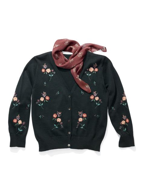 Peruvian Connection Pima Cotton Vintage Cardigan