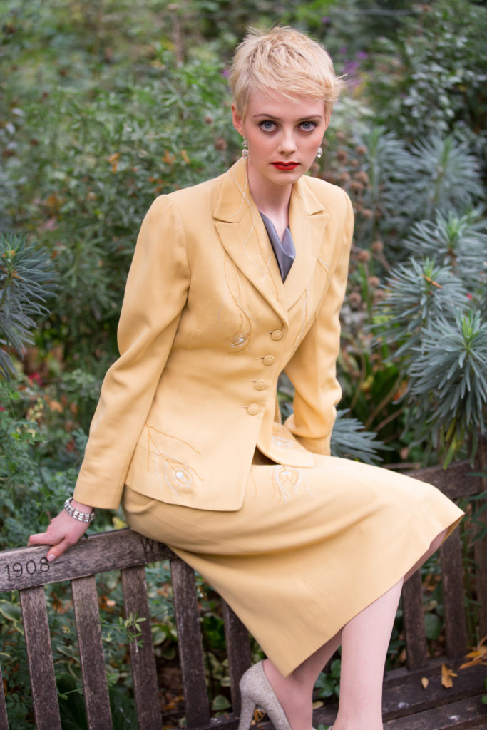 Preloved and Updated Forties Couture Suit by Atelier Tammam