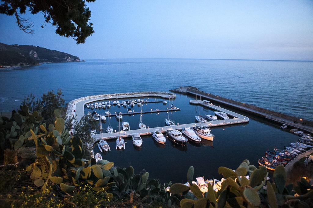 The marina at Sperlonga on Italy's unspoiled Tyrrhenian Coast