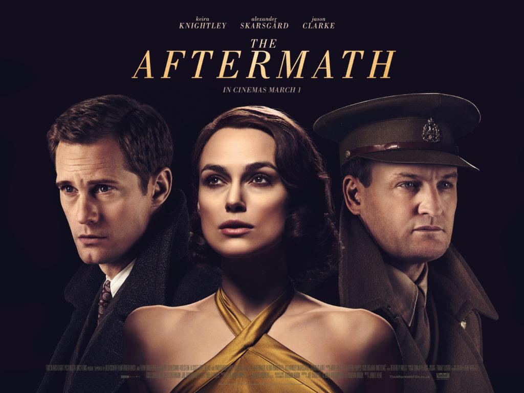 Keira Knightley, Alexander Skarsgard and Jason Clarke in The Aftermath