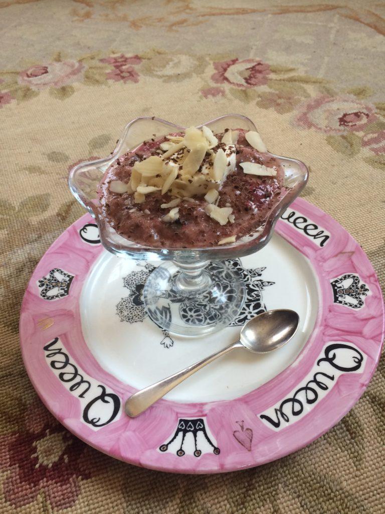 Homemade Deliciously Organic Raspberry Semifreddo