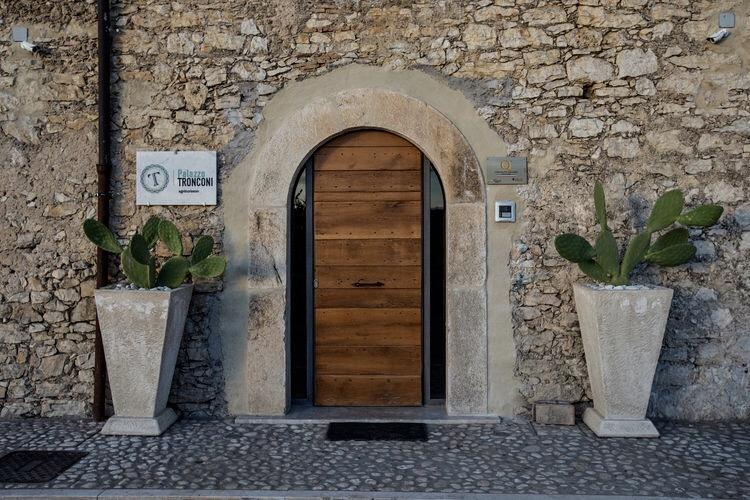 Palazzo Tronconi Entrance