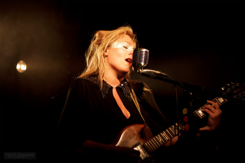 Singer Songwriter Tallulah Rendall Performing Live
