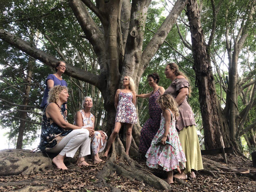 Australian treesisters practice - image Pollyanna Darling (1)