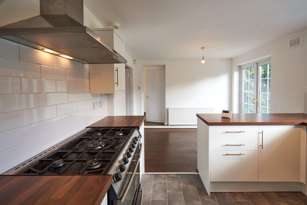 Kitchen interior of an Equfund Ethical Investment Property