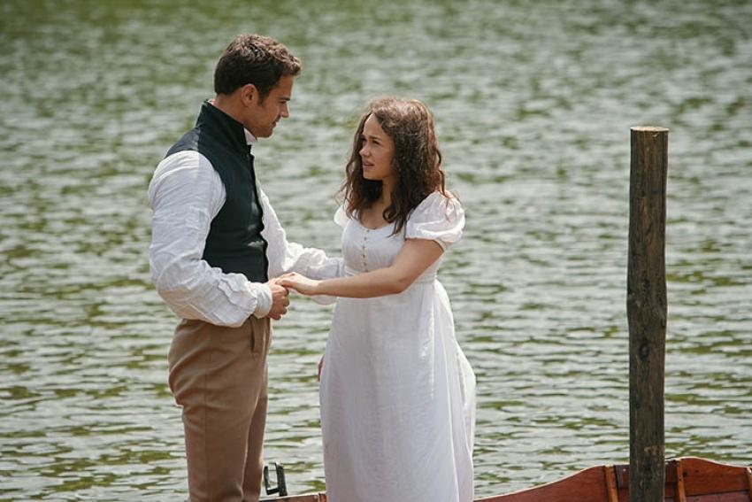 Theo James and Rose Williams Sanditon