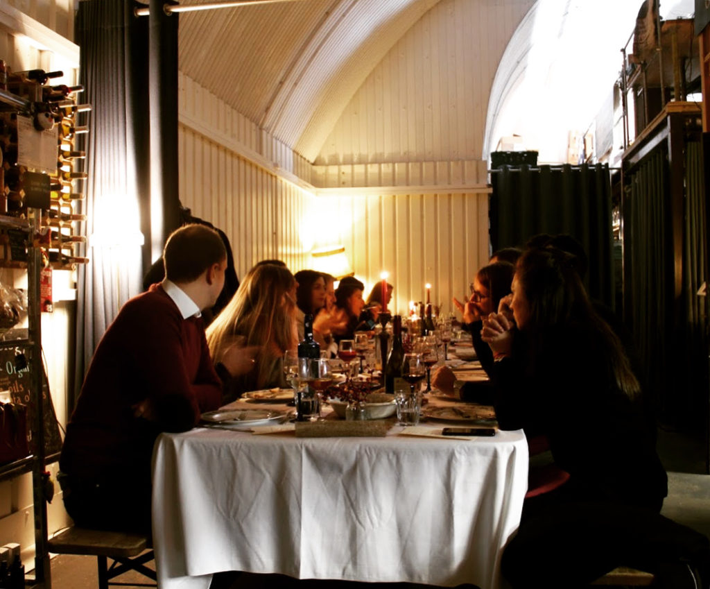 Guests at Oliveology Food Feast