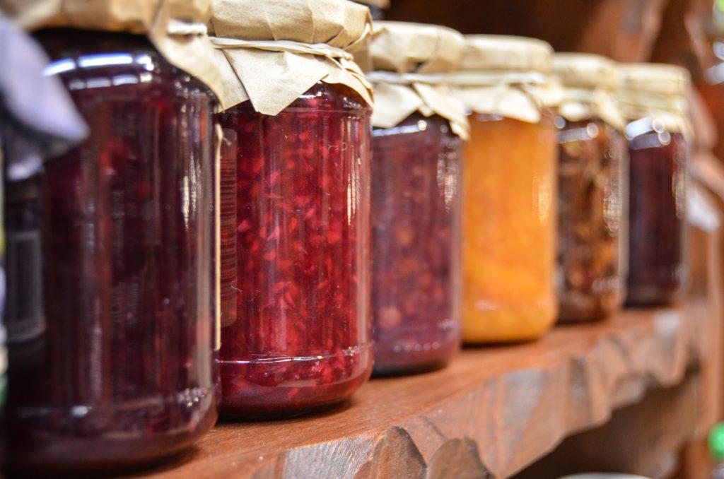 Organic fresh fruit preserves. Photo courtesy of Pixabay from Pexels.