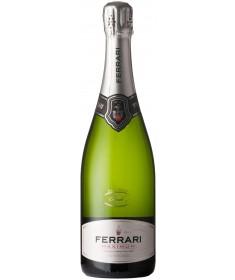 An organic northern Italian sparkling wine, the Ferrari Maximum Brut.