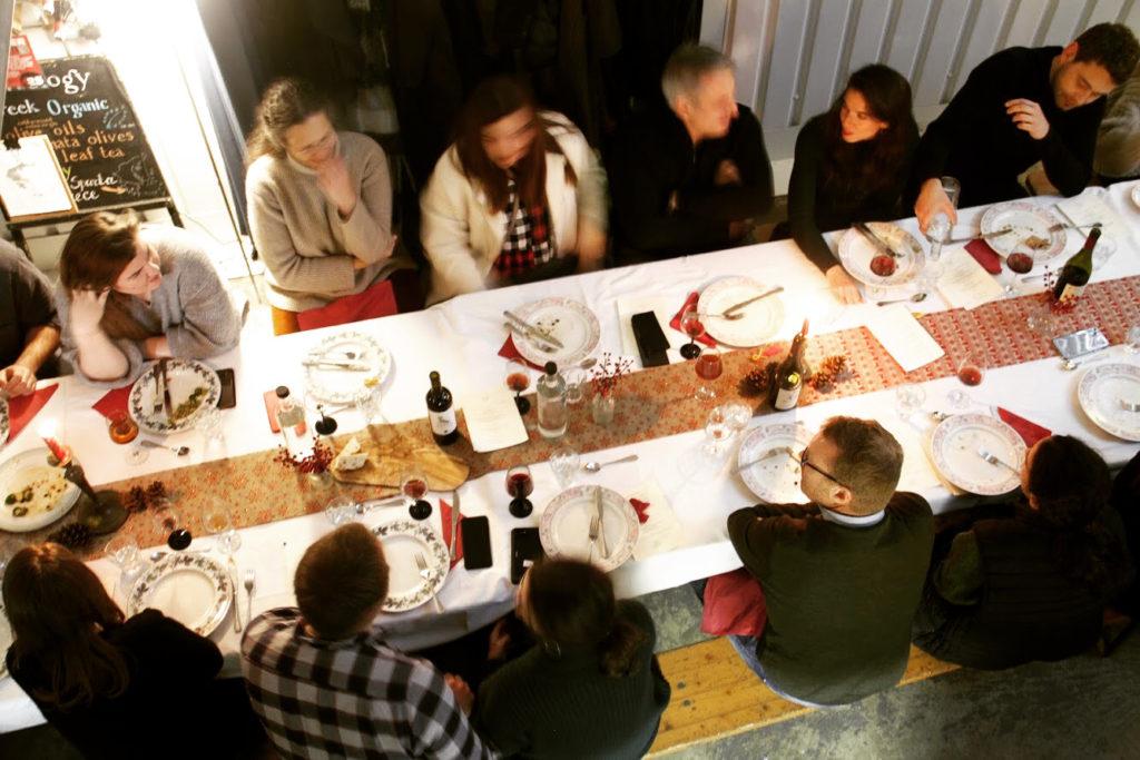 Greek Organic Christmas Feast